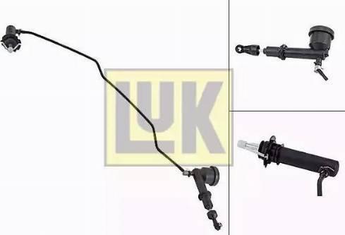 LUK 513007710 - Juego de cilindros receptor/maestro, embrague superrecambios.com