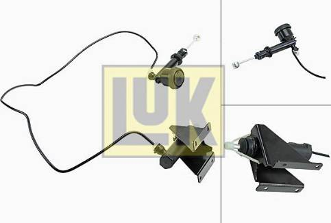 LUK 513011410 - Juego de cilindros receptor/maestro, embrague superrecambios.com