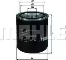 Mahle Original AL24 - Cartucho del secador de aire, sistema de aire comprimido superrecambios.com
