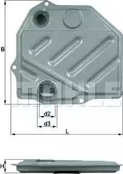 Mahle Original HX46 - Filtro hidráulico, transmisión automática superrecambios.com