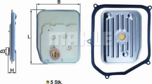 Mahle Original HX147KIT - Filtro hidráulico, transmisión automática superrecambios.com