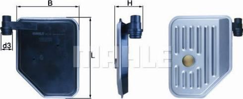 Mahle Original HX156 - Filtro hidráulico, transmisión automática superrecambios.com