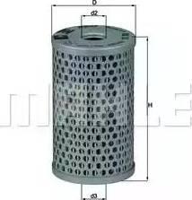 Mahle Original HX15 - Filtro hidráulico, dirección superrecambios.com