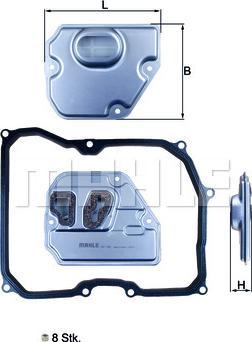 Mahle Original HX169KIT - Filtro hidráulico, transmisión automática superrecambios.com