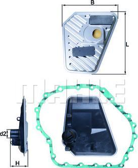 Mahle Original HX168D - Filtro hidráulico, transmisión automática superrecambios.com