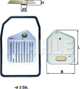 Mahle Original HX163KIT - Filtro hidráulico, transmisión automática superrecambios.com