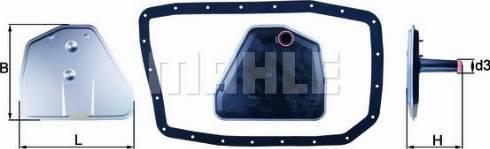 Mahle Original HX162D - Filtro hidráulico, transmisión automática superrecambios.com