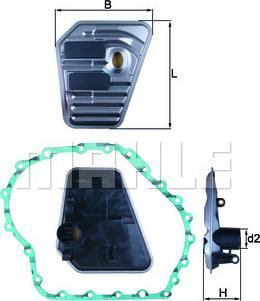 Mahle Original HX167D - Filtro hidráulico, transmisión automática superrecambios.com