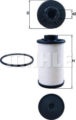 Mahle Original HX132D - Filtro hidráulico, transmisión automática superrecambios.com