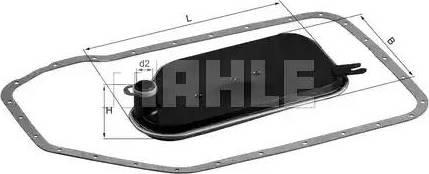 Mahle Original HX84D - Filtro hidráulico, transmisión automática superrecambios.com