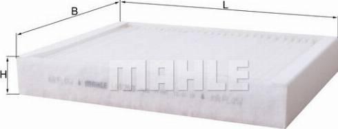 Mahle Original LA1263 - Filtro, aire habitáculo superrecambios.com