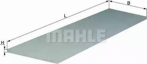 Mahle Original LAP26 - Filtro, aire habitáculo superrecambios.com