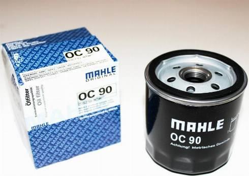 Mahle Original OC90 - Filtro de aceite superrecambios.com