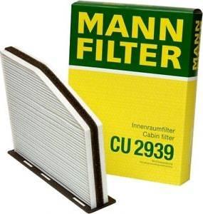 Mann-Filter CU2939 - Filtro, aire habitáculo superrecambios.com