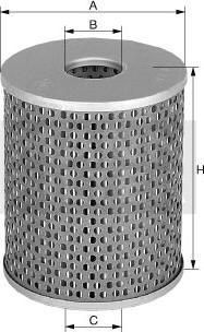 Mann-Filter H1177 - Filtro, sistema hidráulico operador superrecambios.com