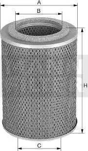 Mann-Filter H1053/2N - Filtro, sistema hidráulico operador superrecambios.com