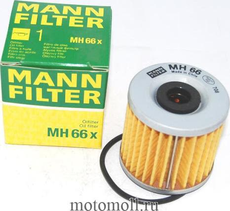 Mann-Filter MH66X - Filtro de aceite superrecambios.com