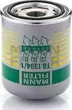 Mann-Filter TB1394/1X - Cartucho del secador de aire, sistema de aire comprimido superrecambios.com