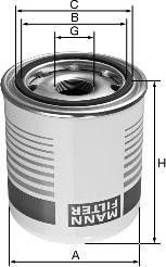 Mann-Filter TB1374/4 - Cartucho del secador de aire, sistema de aire comprimido superrecambios.com