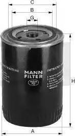 Mann-Filter W712/4 - Filtro, sistema hidráulico operador superrecambios.com