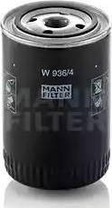 Mann-Filter W936/4 - Filtro, sistema hidráulico operador superrecambios.com