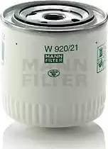 Mann-Filter W920/21 - Filtro, sistema hidráulico operador superrecambios.com