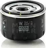 Mann-Filter W75/3 - Filtro de aceite superrecambios.com