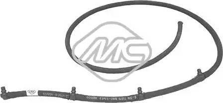 Metalcaucho 92061 - Tubo flexible, combustible de fuga superrecambios.com
