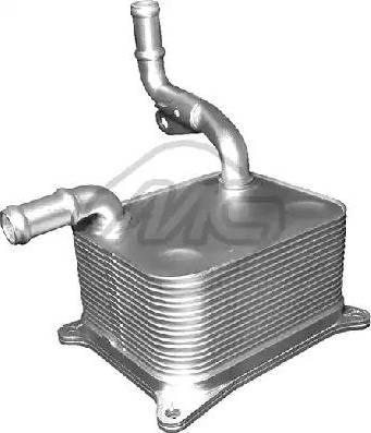 Metalcaucho 06336 - Radiador de aceite, transmisión automática superrecambios.com