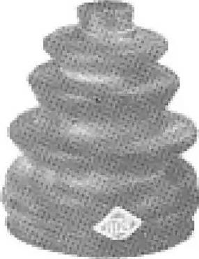 Metalcaucho 00493 - Fuelle, árbol de transmisión superrecambios.com