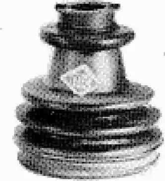 Metalcaucho 00532 - Fuelle, árbol de transmisión superrecambios.com