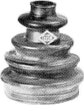 Metalcaucho 00342 - Fuelle, árbol de transmisión superrecambios.com