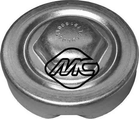 Metalcaucho 03692 - Tapa, radiador superrecambios.com