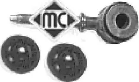 Metalcaucho 02637 - Travesaños/barras, estabilizador superrecambios.com
