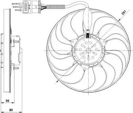 NRF 47392 - Ventilador, refrigeración del motor superrecambios.com