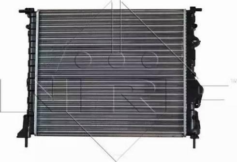 NRF 58023 - Radiador, refrigeración del motor superrecambios.com