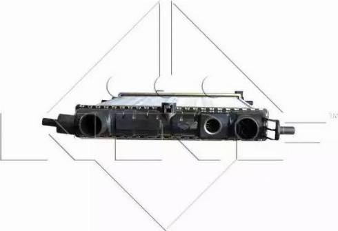 NRF 58155 - Radiador, refrigeración del motor superrecambios.com