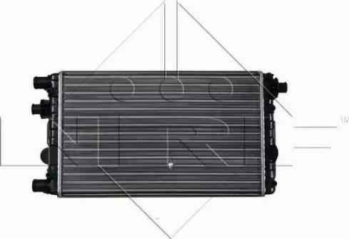 NRF 53602 - Radiador, refrigeración del motor superrecambios.com