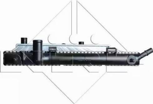 NRF 53863 - Radiador, refrigeración del motor superrecambios.com