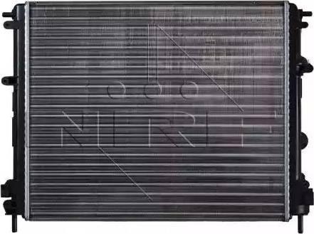 NRF 53210 - Radiador, refrigeración del motor superrecambios.com