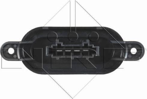 NRF 342068 - Resitencia, ventilador habitáculo superrecambios.com