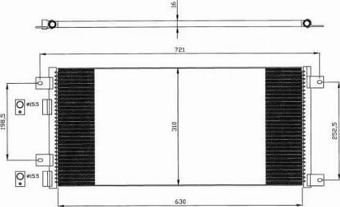 NRF 35643 - Condensador, aire acondicionado superrecambios.com