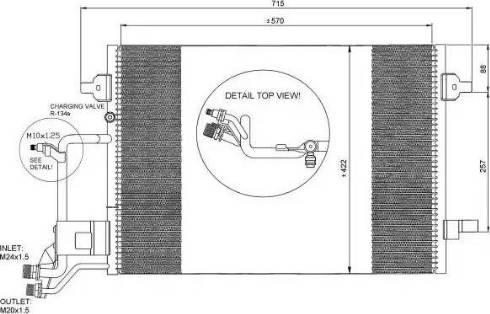 NRF 35199 - Condensador, aire acondicionado superrecambios.com