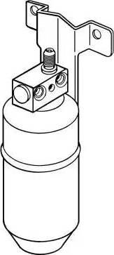 NRF 33078 - Filtro deshidratante, aire acondicionado superrecambios.com