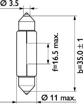 PHILIPS 13844CP - Lámpara, luz de acceso superrecambios.com