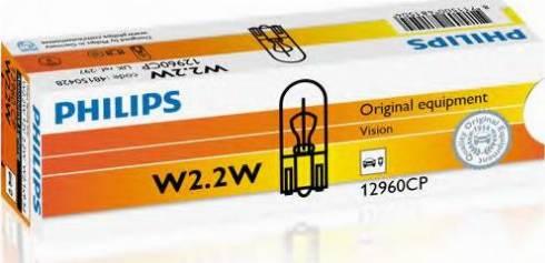 PHILIPS 12960CP - Lámpara, luz de puerta superrecambios.com