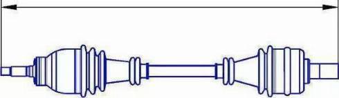 Sercore 12906 - Árbol de transmisión superrecambios.com