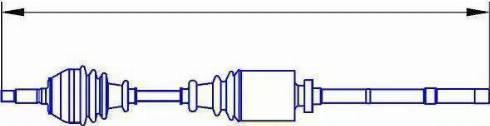 Sercore 12731 - Árbol de transmisión superrecambios.com