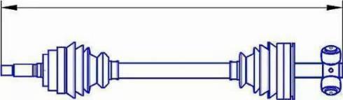 Sercore 12878 - Árbol de transmisión superrecambios.com