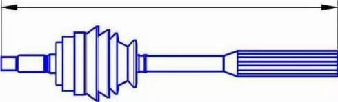 Sercore 22700 - Árbol de transmisión superrecambios.com